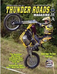 Vehicle Bill Of Sale Iowa by Thunder Roads Magazine Of Iowa May 2017 By Thunder Roads Magazine