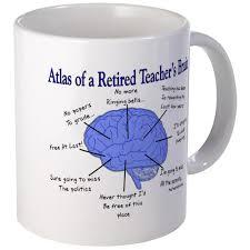 cafepress atlas of a retired teachers brain mugs unique coffee
