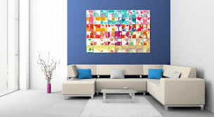 decorative artwork for homes interior blue cushions decorating with artwork popular for home