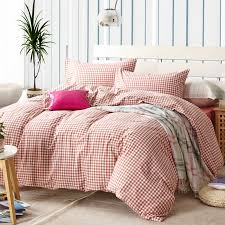 Twin Plaid Bedding by Online Get Cheap Red Plaid Bedding Aliexpress Com Alibaba Group