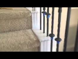 painting stair railing white and removing chair rail in mansfield