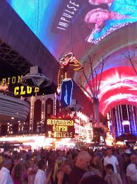 Las Vegas Fremont Street Map by Stores Las Vegas Nevada Fremont Street The Old Strip