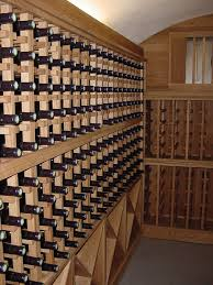 custom bespoke oak wine racks made to order wineware co uk