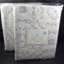 Pottery Barn Sailcloth Curtains by Window Treatments 116488 Pottery Barn Sweet Flower Blackout
