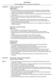 sle resume templates accountant trailers plus lodi crew leader resume sles velvet jobs