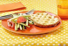 recette cuisine perdu salé recette de perdu salé au fromage et salade de tomate
