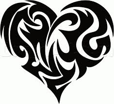 best 25 tribal heart tattoos ideas on pinterest heart tattoo