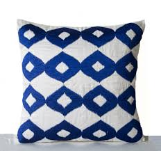 Square Sofa Pillows by Sofas Center Blue Pillow Cover Decorative Euro Accent Within