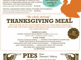 where to go for thanksgiving dinner turkey to go and all the fixings western daughters butcher shop