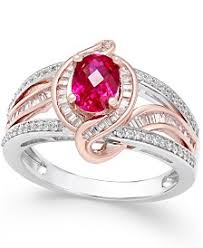 ruby diamond ring ruby and diamond rings shop ruby and diamond rings macy s