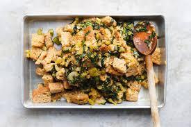 vegetarian thanksgiving stuffing recipes vegetarian gluten free stuffing with kale ghee