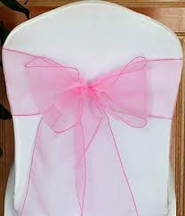 organza chair sashes mds pack of 100 organza chair sashes bow sash for