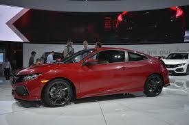 honda civic 2016 si honda civic si prototype rallye red pearl at 2016 la auto show