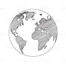 Free Vector World Map by World Map Globe Sketch Vector Stock Vector Art 505626040 Istock