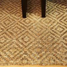 Pottery Barn Natural Fiber Rugs by Flooring U0026 Rugs Decorating Hand Made Taupe Tan Jute Rug 8x10