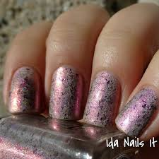 ida nails it alchemy lacquers cupid gilded orchid and love