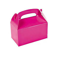 hot pink colour treat cardboard boxes hot pink colour