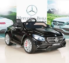 amazon com mercedes benz s63 kids 12v electric power wheels ride