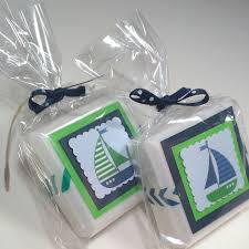 sailboat baby shower favors shower favors nautical baby shower