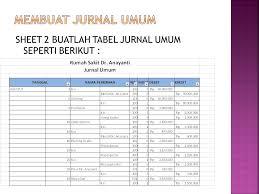 cara membuat ayat jurnal umum studi kasus akuntansi dengan excel ppt download