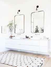 White Bathroom Rugs Magnificent Double Vanity Bath Rug And Best 20 Bathroom Rugs Ideas