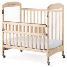Next To Bed Crib Foundations Next Serenity Safereach Side Gate Compact Crib