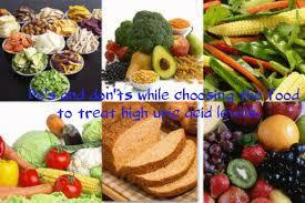 do u0027s and don u0027ts to treat high uric acid levels