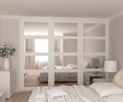 Mirror Sliding Closet Doors For Bedrooms Mirrored Sliding Doors Wardrobe Zen Purist Modern Interiors