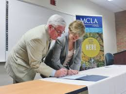 bcc mcla work together on early education degree offerings the