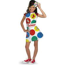 amazon com hasbro games twister girls costume 4 6x toys u0026 games