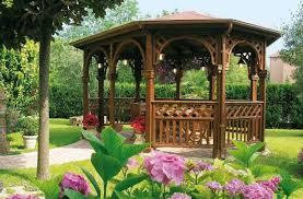 giardini con gazebo gazebo in legno foto design mag