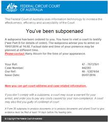 federal circuit court map spam warning federal circuit court of australia