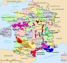 France World Map Wine Map Of France Recana Masana