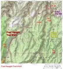 Map Of Prescott Arizona by Fred Haught Trail 141 U2022 Hiking U2022 Arizona U2022 Hikearizona Com