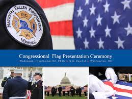Fallen Officer Flag Congressional Flag Presentation Ceremony Honors Nation U0027s Fallen