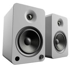 rca home theater system 130 watts kanto living yu6 2 way powered bookshelf speakers yu6mg b u0026h
