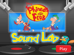 Phineas And Ferb Backyard Beach Game Phineas And Ferb Disney Channel