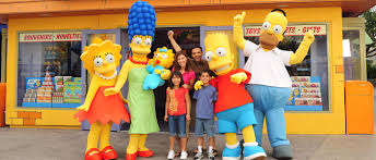 Simpsons Family Halloween Costumes by Character Sightings Rides U0026 Attractions Universal Studios