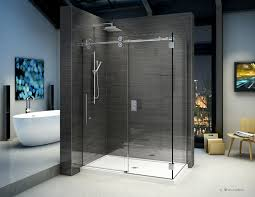 Fleurco Shower Door Fleurco Glass Shower Doors Kinetik Kt In Line 2 Sides Wall