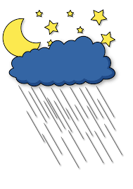 cartoon rainy day clipart 28