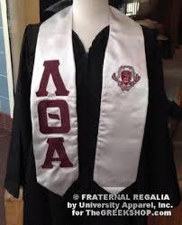 custom graduation stole the greekshop lettered satin graduation stoles