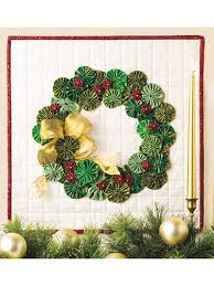quilting wall quilt patterns christmas patterns yo yo wreath