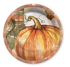 fall pumpkin harvest thanksgiving guest napkin print paper