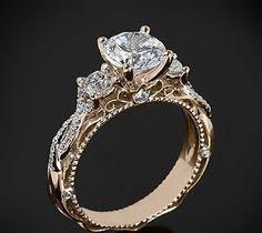 vintage verlobungsringe the enchanted princess white sapphire 14k gold engagement ring