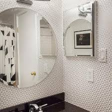 bathroom wall covering ideas silver bathroom wallcovering design ideas