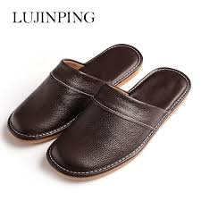 Mens Leather Bedroom Slippers by Online Get Cheap Slippers Men Comfortable Summer Aliexpress Com