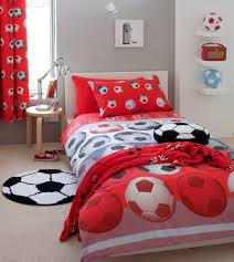 Red Football Themed Bedroom Collection Kool Rooms For Kool Kids - Kids football room