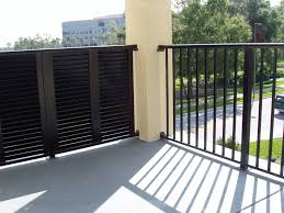 cable in aluminum trellis barfield fence and fabrication