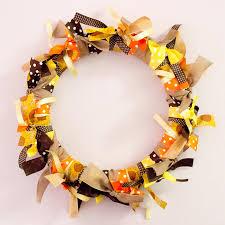 ribbon wreath offray easy ribbon wreath