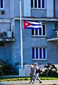 Cuban Flag Meaning Tourists Find Havana A Virtual Ghost Town As Cuba Prepares For